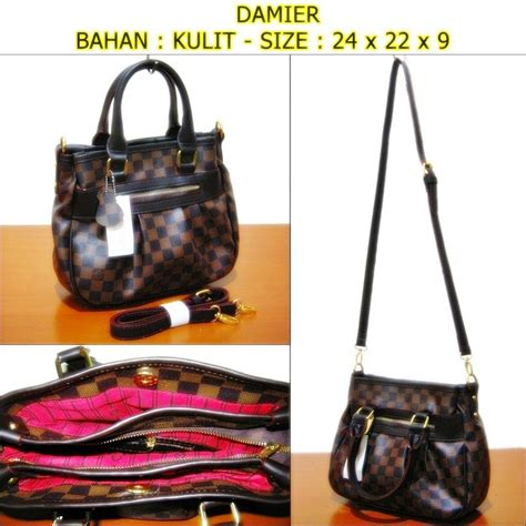 Tas Wanita Import Kotak Kulit Pu Import N844 tas wanita branded import korea free dompet kunci