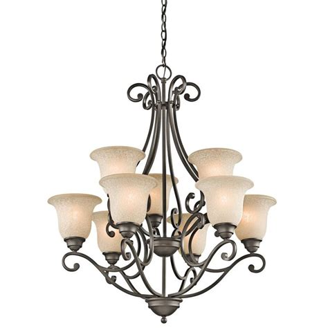Bronze Dining Room Chandelier Kichler 9 Light Up Bronze Chandelier Lighting Ideas For Dining Room