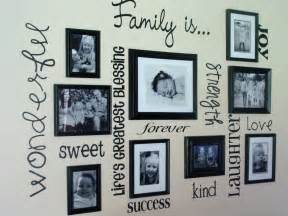 Photography Wall Art Home Decor by 30 Family Picture Frame Wall Ideas