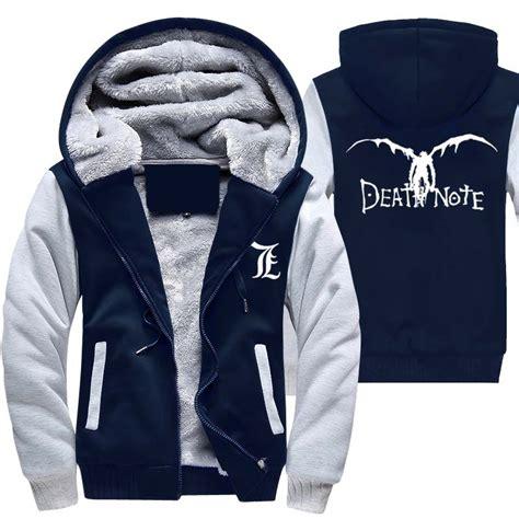 Note Jacket Jaket Hoodie L Deathnote Anime popular note hoodie buy cheap note hoodie lots