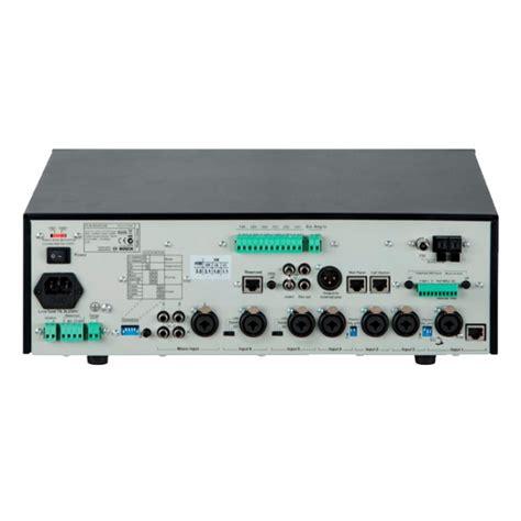 Mixer Audio Bosch bosch pln 6aio240 6 zone mixer lifier