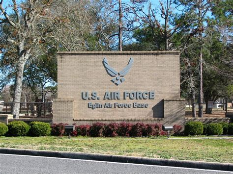 Eglin Afb Post Office panoramio photo of eglin air base sign