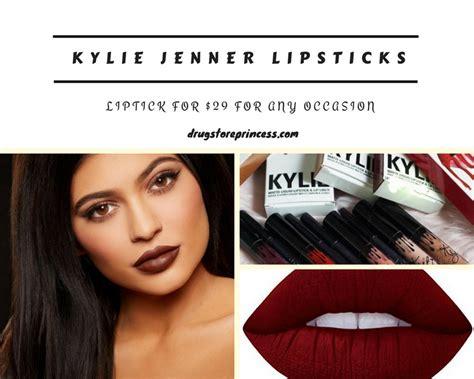 jenner lipstick colors the drugstore princess part 4