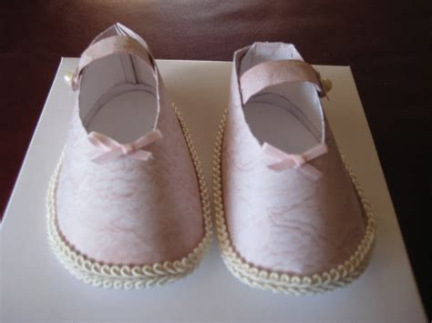 Make Paper Shoes - how to make paper baby shoes diy oh my baby