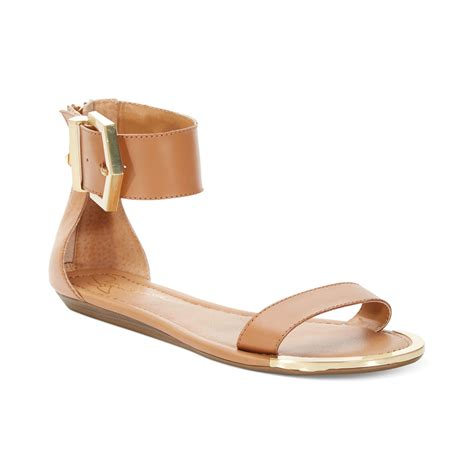 brown two sandals report signature louie two flat sandals in brown