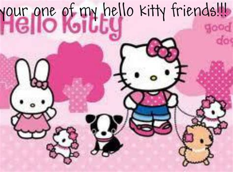 wallpaper hello kitty and friends hello kitty and friends wallpaper wallpapersafari