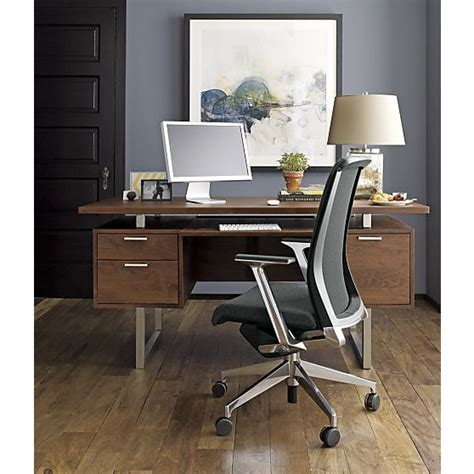 crate and barrel computer desk 121 best images about home offices on pinterest home