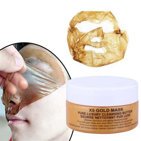 Mask Collagen White Masker Muka Gold Bioaqu 24k gold collagen mask nynoshop