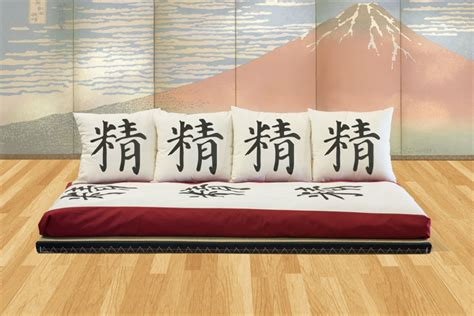 divano futon divano futon tatami arredare risparmiando vivere zen