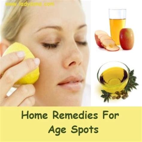 home remedies for age spots home remedies