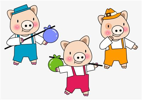 Zoetoys 3d Book Three Pig three pigs pig sixty one png and psd file