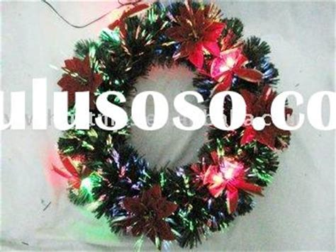 fiber optic christmas wreath fiber optic table top decorations fiber optic table top decorations