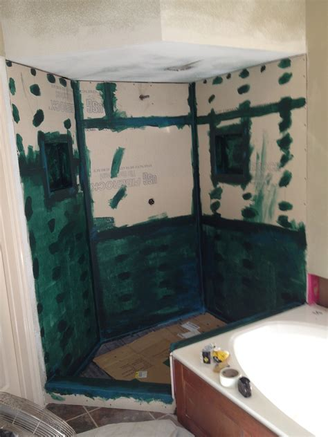 Waterproofing Bathtub Walls by Custom Shower Construction Tx South