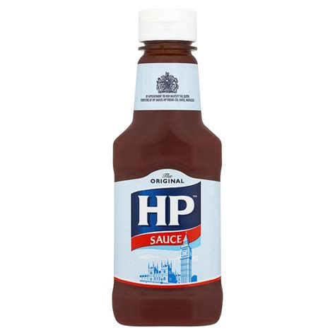 ocado hp brown sauce handy pack 285g product information