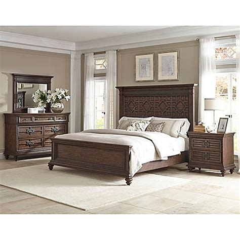 klaussner bedroom furniture klaussner 174 palencia queen bedroom set in brown bed bath