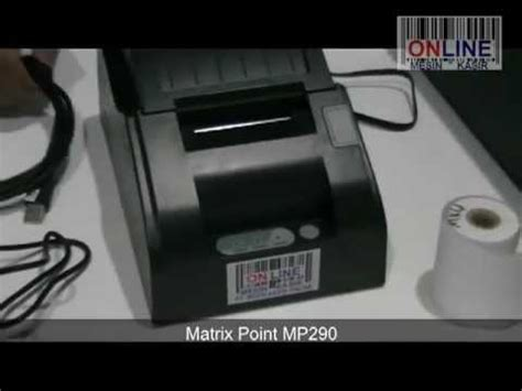 Kertas Thermal Kertas Printer Thermal Kertas Printer Kasir Thermal printer kasir matrix point mp290 cara pasang kertas