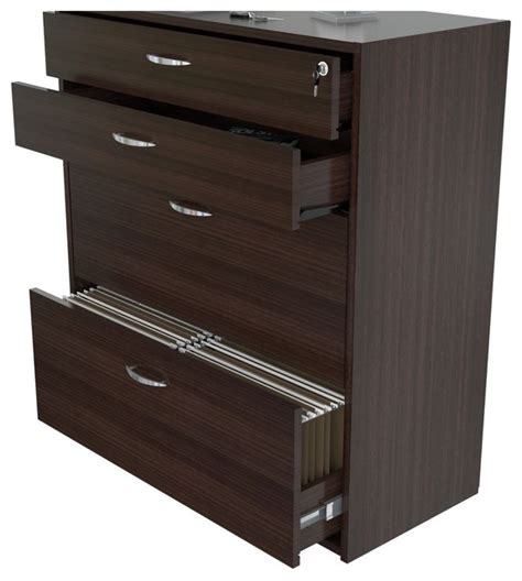 4 Drawer Lockable Filing Cabinet by Inval Four Drawer File Storage Cabinet With Locking