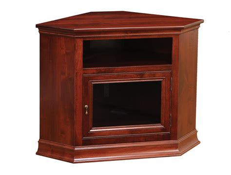 tv stands corner breckenridge 28 corner tv stand ohio hardwood furniture