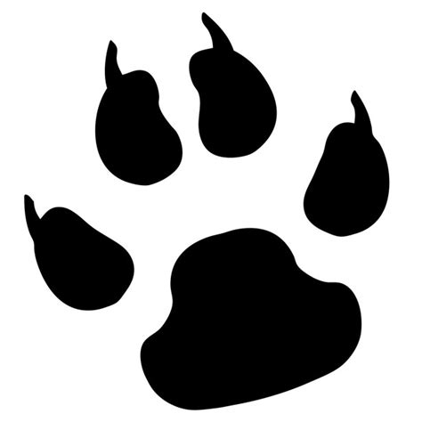 pictures of paws paw print free stock photo domain pictures