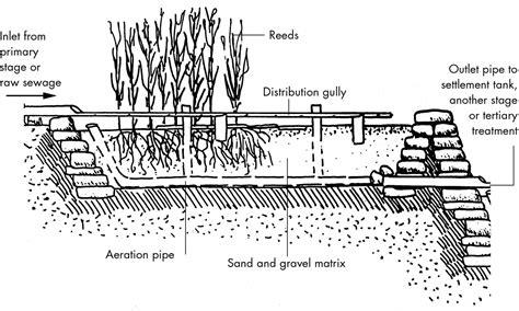 sewer design guidelines uk reed bed design details home design