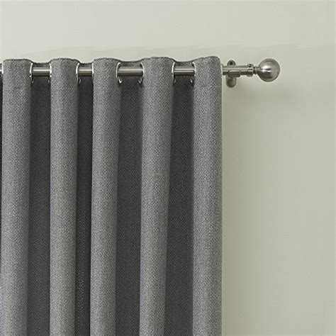 what size rod for grommet curtains iyuego solid faux linen classic room darkening grommet top
