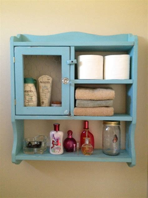images of hanging cabinet new paint some distressing chicken wire and an antique