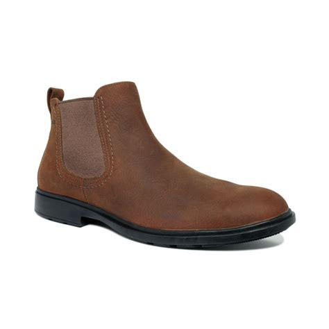 sebago waterproof boots in brown for
