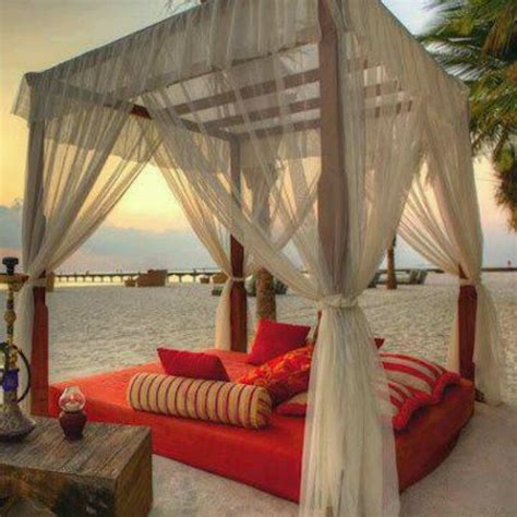 bed on the beach beach canopy bed my dream home pinterest