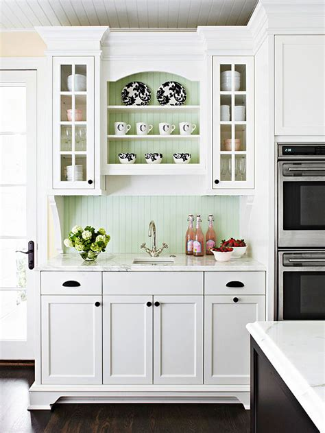 Cottage Kitchen Backsplash Kitchen Decorating Ideas Beadboard Backsplash White Cottage Kitchens And Cottage Kitchens