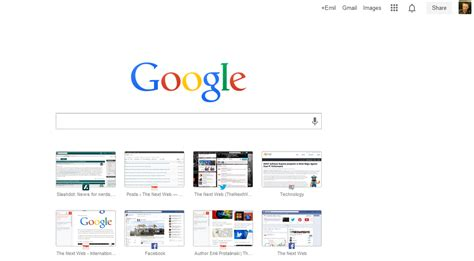 google launches new bookmarks interface for chrome ubergizmo google launches new tab page for chrome with a search bar