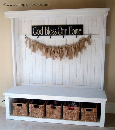 Entrance Storage Front Entry Bench Simply Kierste Design Co