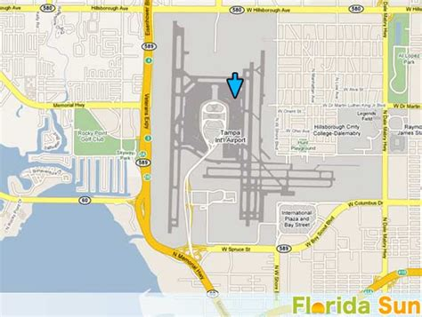 Car Rental In Port Fl by Ta International Airport Map Adriftskateshop
