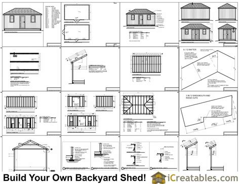 hip roof barn plans 12x20 hip roof shed plans
