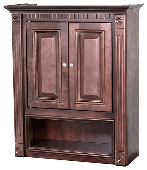 Heritage Bathroom Vanities Heritage Bathroom Wall Cabinet Contemporary Bathroom Cabinets And Shelves By Overstock