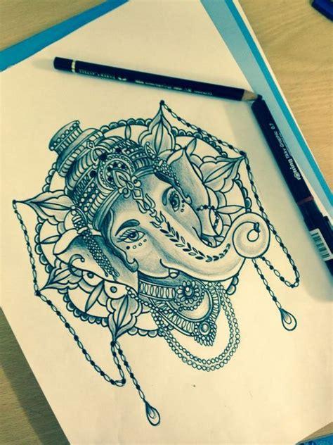 ganesh mandala tattoo ganesha tattoo mandala tattoo and tattoo sleeves on pinterest