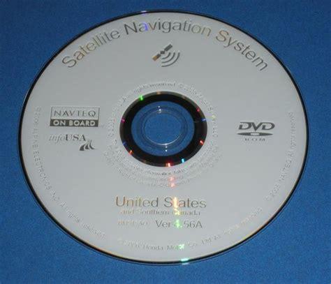 satellite navigation system dvd honda 33 best images about dvd navigation map disks on