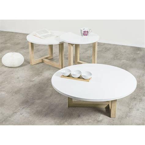 achatdesign table basse scandinave ronde copenhague 80