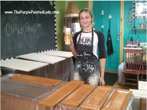Paint Kitchen Cabinets With Chalk Paint Shellac When To Use It What To Do About Water Stains Or