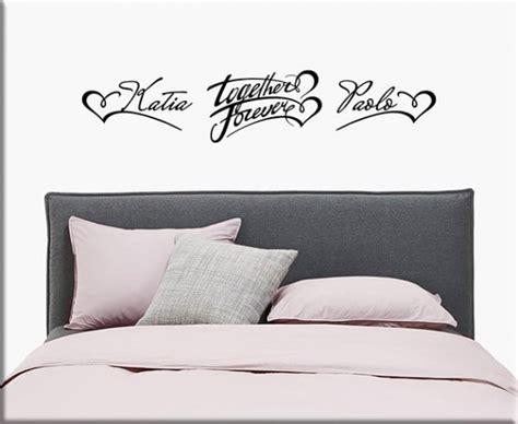 stickers per da letto wall stickers personalizzati per da letto