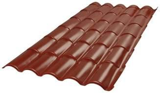 plaque couverture toit imitation tuile