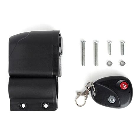 Alarm Sepeda Motor Remote alarm sepeda dengan remote black