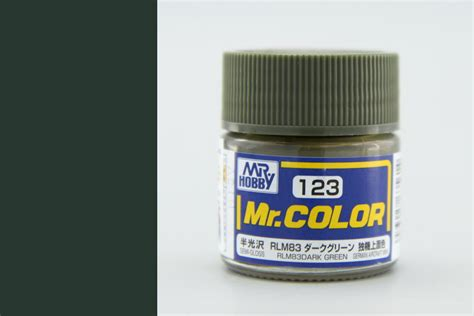 Mr Color 123 Mr Colour Hobby Hoby Hobi Warna Rlm83 Green Green Seidenmatt Mr Color Solvent Based 10ml Mr