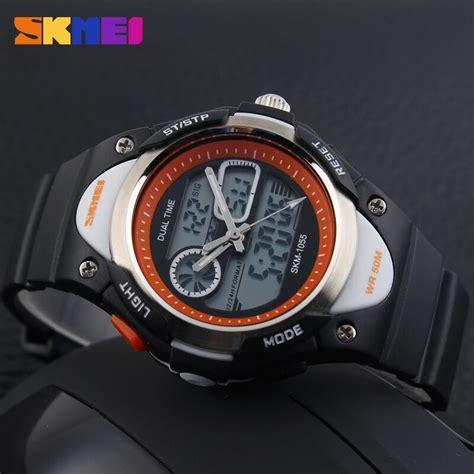 Skmei Jam Tangan Anak Ad1052 skmei jam tangan anak ad1055 black white jakartanotebook