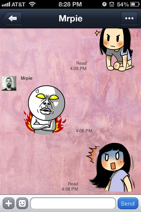 chat wallpaper line error line chat wallpaper