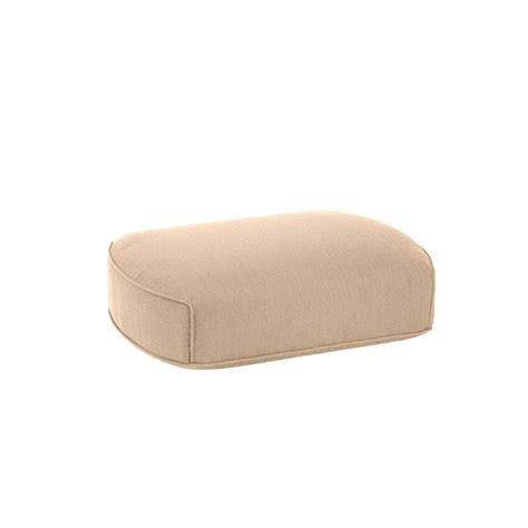 Martha Stewart Ottoman Martha Stewart Living Charlottetown Green Bean Replacement Outdoor Ottoman Cushion 89 55602