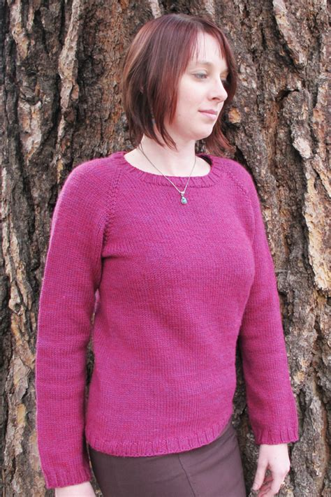 knitted hoodie pattern womens 265 neck mid weight pullover for knitting
