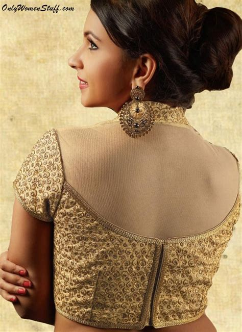 New Blouse Style8 100 new blouse designs pattern back neck designer saree blouses