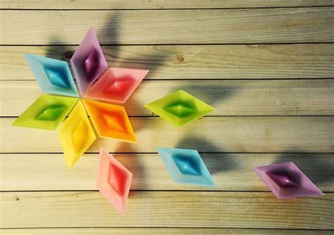 candles  shape  folded paper boat  roman ficek