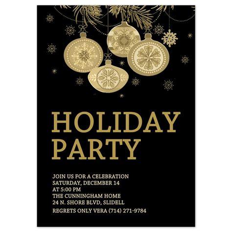 holiday party invite template cloveranddot com