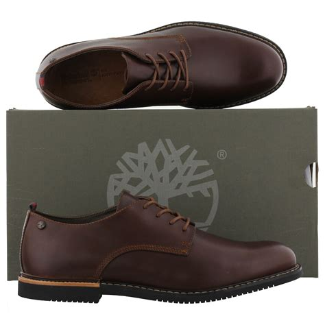 timberland oxford shoes for timberland brook park brown oxford shoes
